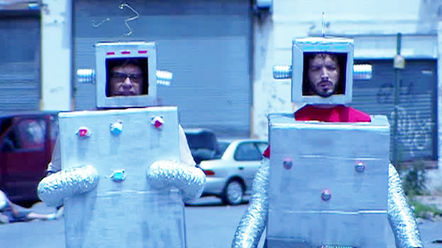Flight of the Conchords Robots