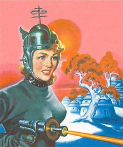 laser-lady