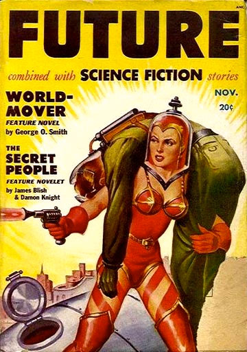 Vintage Future Science Fiction Cover