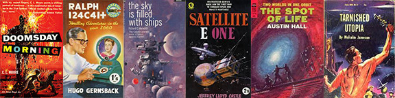 rescued scifi books