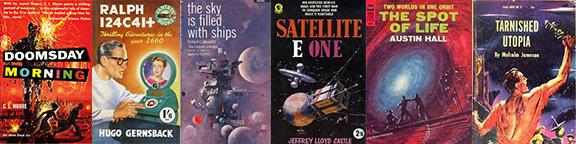 rescued scifi books