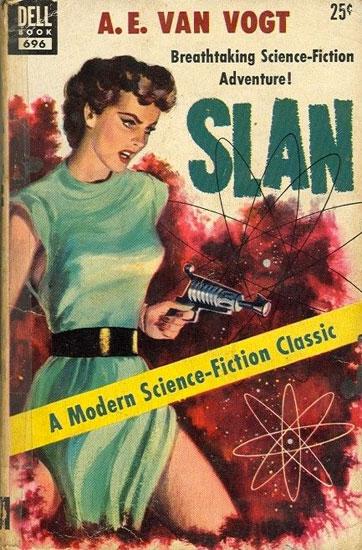 Slan Vintage Sci-fi Cover