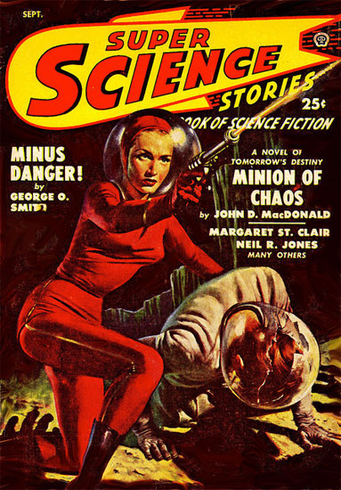 Super Science Stories Scifi Cover