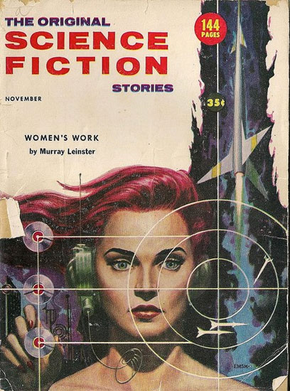 Women's Work Vintage Sci-fi Cover