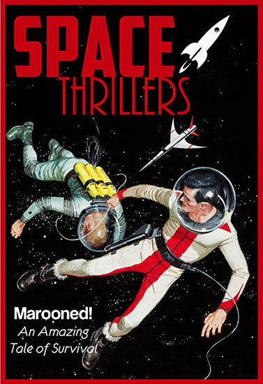 Space Thrillers Vintage Science Fiction Art