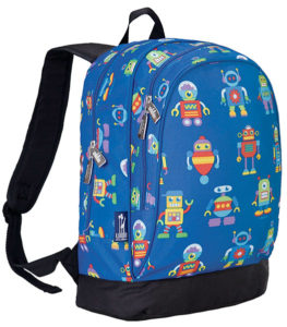 Retro Robot Backpack