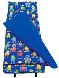 Retro Robot Kids Nap Mat