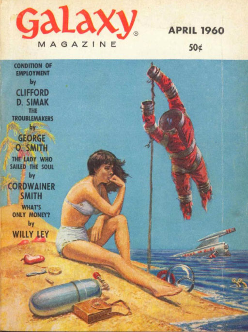 Galaxy April 1960 Cover