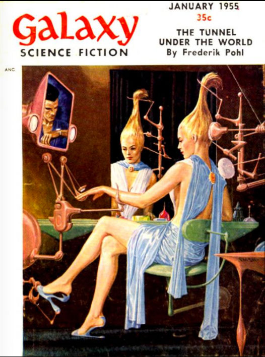 Galaxy January 1955 Cover