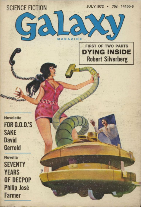 Galaxy July 1972 Cover