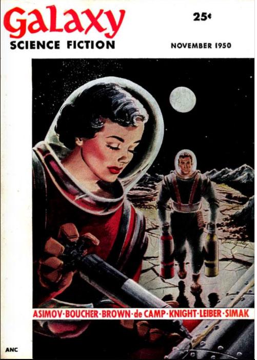 Galaxy November 1950 Cover