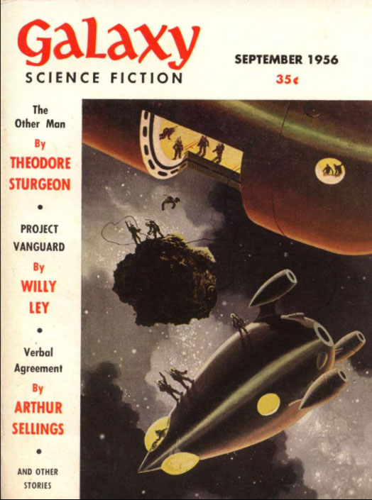 Galaxy September 1956 Cover