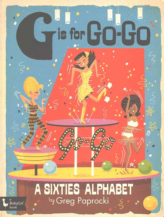 G is for Go-Go Retro 1960s Illustrations