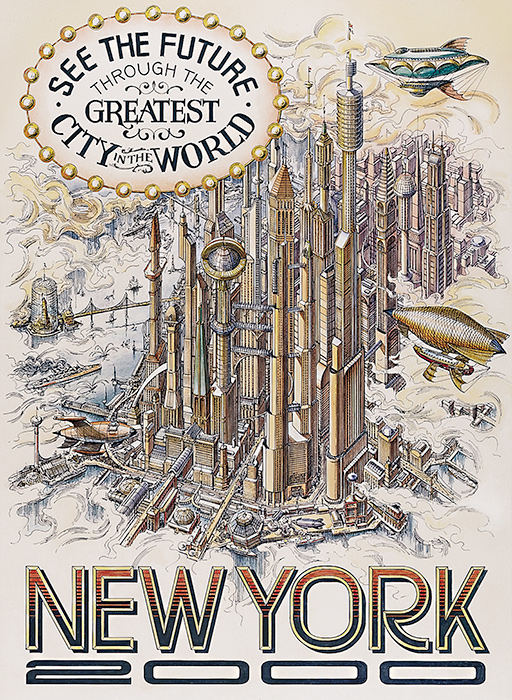 Disneyland Paris - New York City 2000 Poster