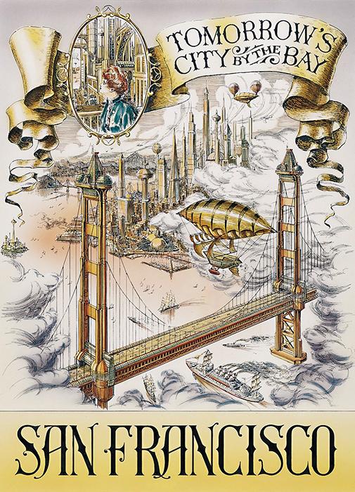 Disneyland Paris- Cities of the Future San Francisco