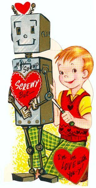 I'm Screwy Robot Valentine