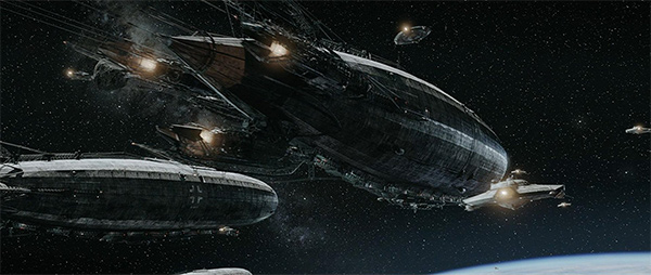 Iron Sky Space Zepplins
