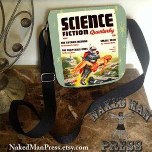 Vintage Pulp Scifi Magazine Cover Bag